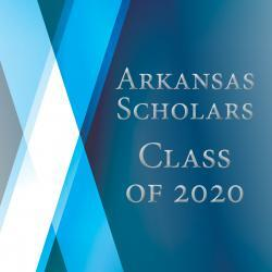 A photo of the 2020 Arkansas Scholars magazine cover