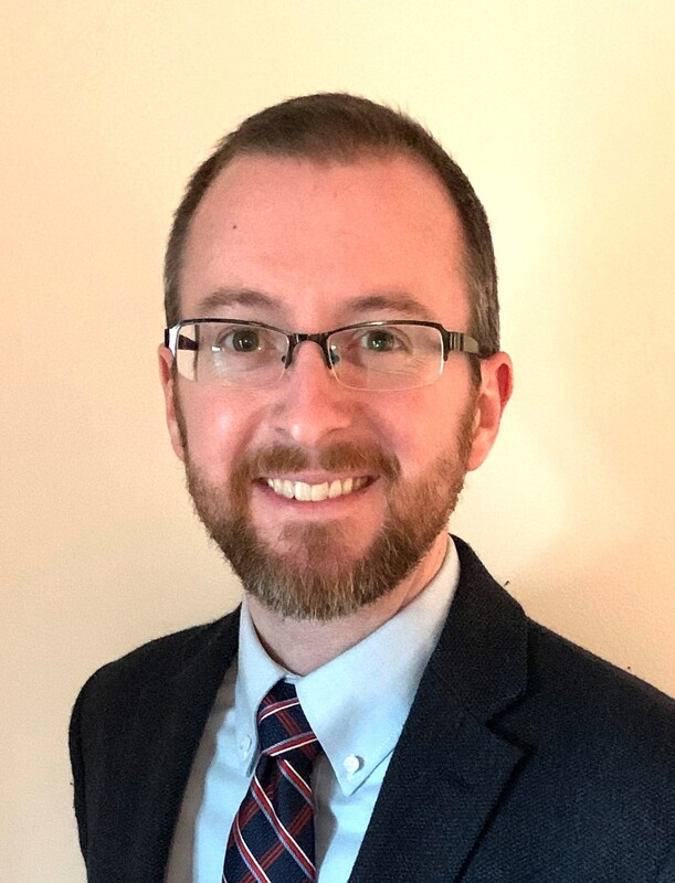 A photo of Zach Perrine, UACCB's new vice chancellor for student affairs