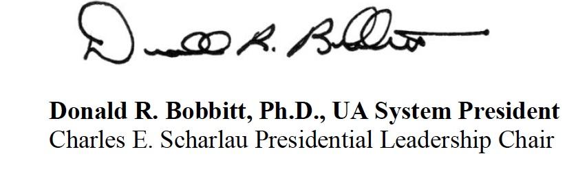Donald Bobbitt's signature