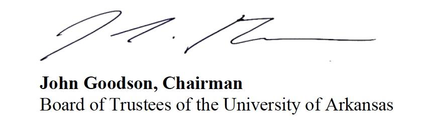 John Goodson's signature